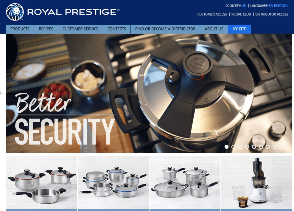 Royal Prestige Cookware