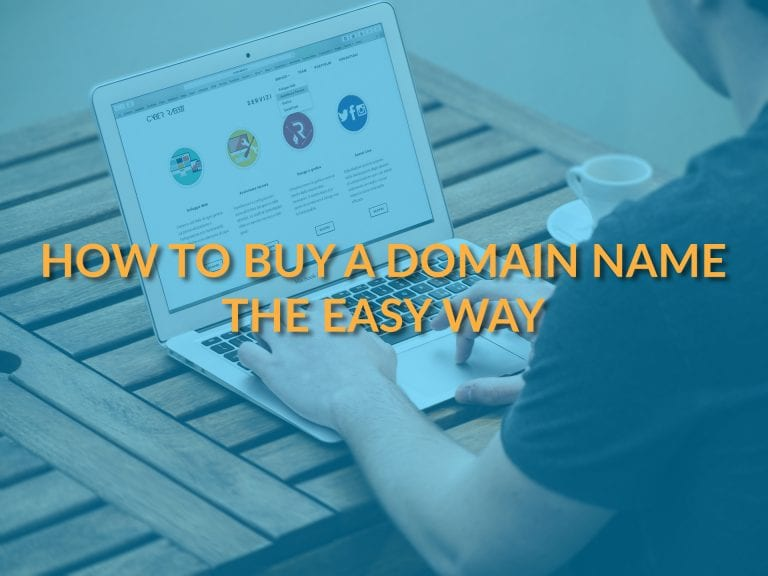 How to Buy a Domain Name the Easy Way