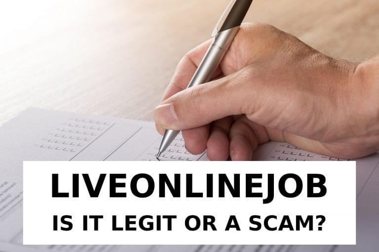 LiveOnlineJob Scam Review