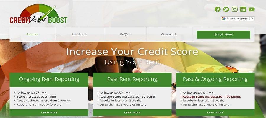 Credit Rent Boost